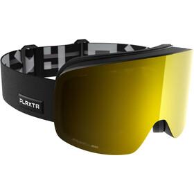 Flaxta Prime Goggles black-gold mirror
